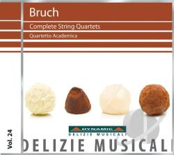 Bruch / Quartetto Academia - Bruch: Complete String Quartets CD Cover Art