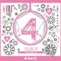 4Minute - Volume Up CD Cover Art