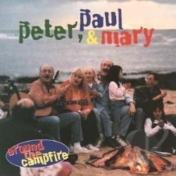 Peter, Paul & Mary - Around the Campfire CD Cover Art