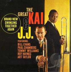 Johnson, J.J. / Winding, Kai - Great Kai & J.J. CD Cover Art