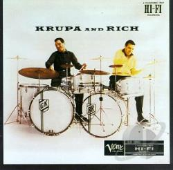 Krupa, Gene / Rich, Buddy - Krupa & Rich CD Cover Art