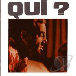 Aznavour, Charles - Qui? CD Cover Art