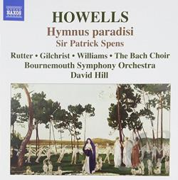 Bournemouth So & Chorus / Hill / Howells / Rutter - Howells: Hymnus paradisi; Sir Patrick Spens CD Cover Art