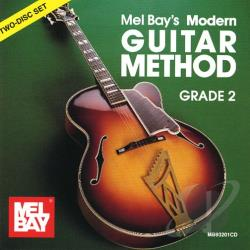 Bay, William & Mel Bay - Modern Guitar Method Grade 2 CD Cover Art