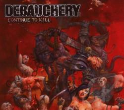 Debauchery - Continue to Kill CD Cover Art