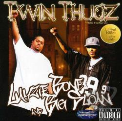 Big Sloan / Layzie Bone / Thug Twinz - Twin Thugz CD Cover Art