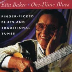 Baker, Etta - One-Dime Blues CD Cover Art
