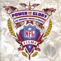 Power and the Glory: Music & Voices of NFL Films CD Cover Art