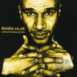 Goldie - Goldie.co.uk CD Cover Art