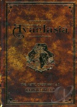 Avantasia - Metal Opera, Vol. 1 & 2 CD Cover Art