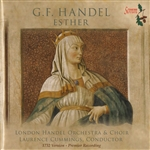 Bowman, James:ctrten / Joshua - Handel: Esther CD Cover Art