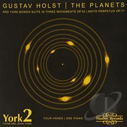 York2 - Gustav Holst: The Planets CD Cover Art