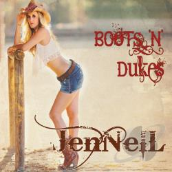 Jennell - Boots N Dukes CD Cover Art
