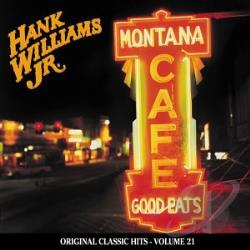 Williams, Hank, Jr. - Montana Cafe CD Cover Art