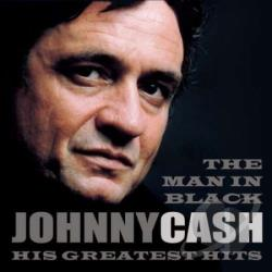 Cash, Johnny - Man In Black: His Greatest Hits CD Cover Art