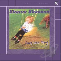 Shannon, Sharon - Each Little Thing CD Cover Art