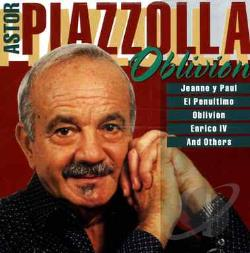 Piazzolla, Astor - Oblivion CD Cover Art