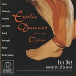 Minnesota Orch / Oue, E:cnd - Exotic Dances from the Opera CD Cover Art