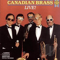 Canadian Brass - Canadian Brass Live! CD Cover Art