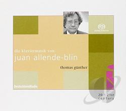 Allende-Blin, Jean - Piano Music SA Cover Art