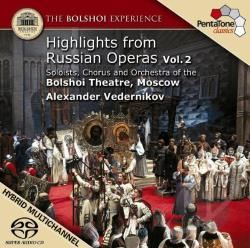 Bolshoi Experience 2 - Highlights from Russian Operas, Vol. 2 SA Cover Art