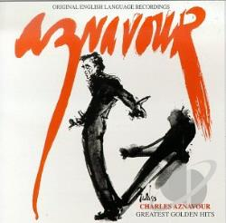 Aznavour, Charles - Greatest Golden Hits CD Cover Art