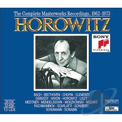 Horowitz, Vladimir - Complete Masterwork Recordings, 1962-1973 CD Cover Art
