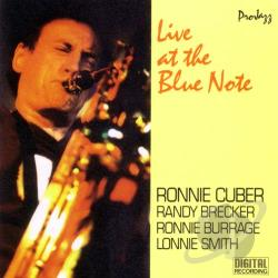 Cuber, Ronnie - Live At The Blue Note CD Cover Art