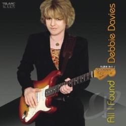 Davies, Debbie - All I Found CD Cover Art