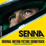 Pinto, Antonio - Original Music From The Motion Picture Senna (International Version) DB Cover Art