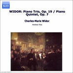 New Budapest Quartet / Prunyi / Widor - Widor: Piano Trio; Piano Quintet CD Cover Art