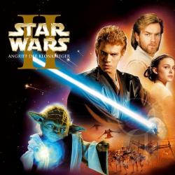 Star Wars - Angriff Der Klonkrieger CD Cover Art