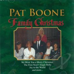 Boone, Pat - Family Christmas CD Cover Art
