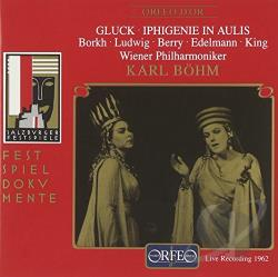Gluck C.W. Von - Iphigenie in Aulis CD Cover Art