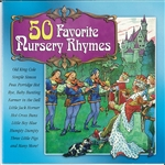 50 Favorite Nursery Rhymes CD Cover Art