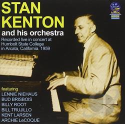 Stan Kenton And His Orchestra - Live at Humbolt State College CD Cover Art
