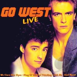 Go West - Live CD Cover Art