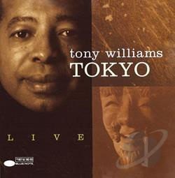 Williams, Tony - Tokyo Live CD Cover Art