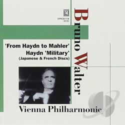 Walter, Bruno - From Haydn to Mahler CD Cover Art