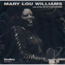 Williams, Mary Lou - Live At the Keystone Korner CD Cover Art