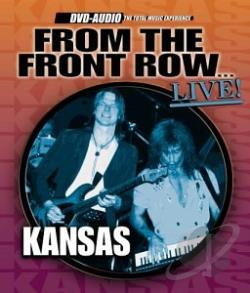 Kansas - From The Front Row...Live! DVA Cover Art
