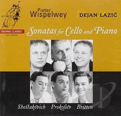 Wispelwey, Pieter - Shostakovich, Prokofiev, Britten: Sonatas for Cello CD Cover Art