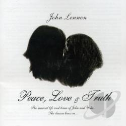 Lennon, John - Peace, Love & Truth CD Cover Art