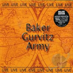 Baker Gurvitz Army - Live CD Cover Art