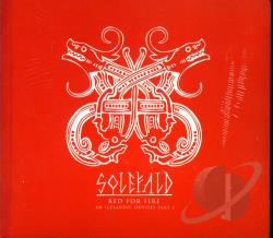 Solefald - Red For Fire: An Icelandic Odyssey, Pt. 1 CD Cover Art