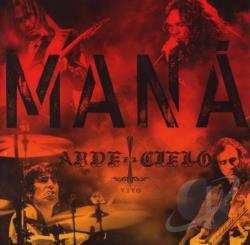 Mana - Arde el Cielo: Vivo CD Cover Art