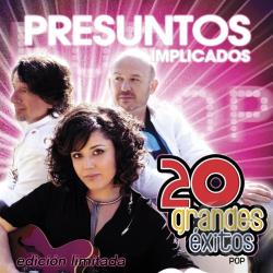 Presuntos Implicados - 20 Grandes Exitos CD Cover Art