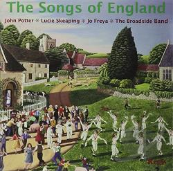 Broadside Band / Freya / Potter / Skeaping - Songs Of England CD Cover Art