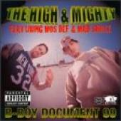 High & Mighty - B-Boy Document 99 CD Cover Art