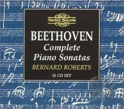 Roberts, Bernard: piano - Beethoven: Complete Piano Sonatas CD Cover Art